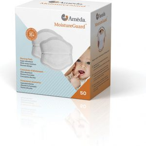 Coussinets d'allaitement jetables super absorbants MoistureGuard Ameda